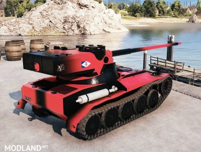 Red and Black Skin for the AMX 13 57 1.1.0 [1.1.0]